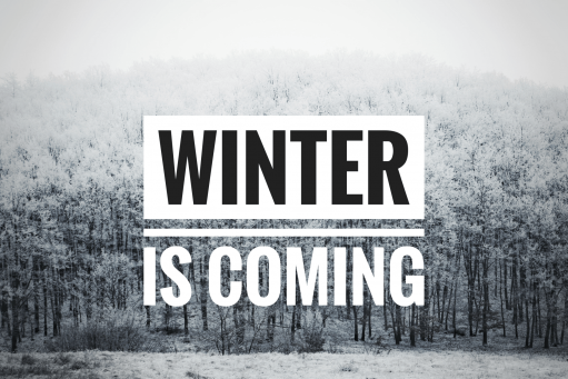 blog - Winter is coming...